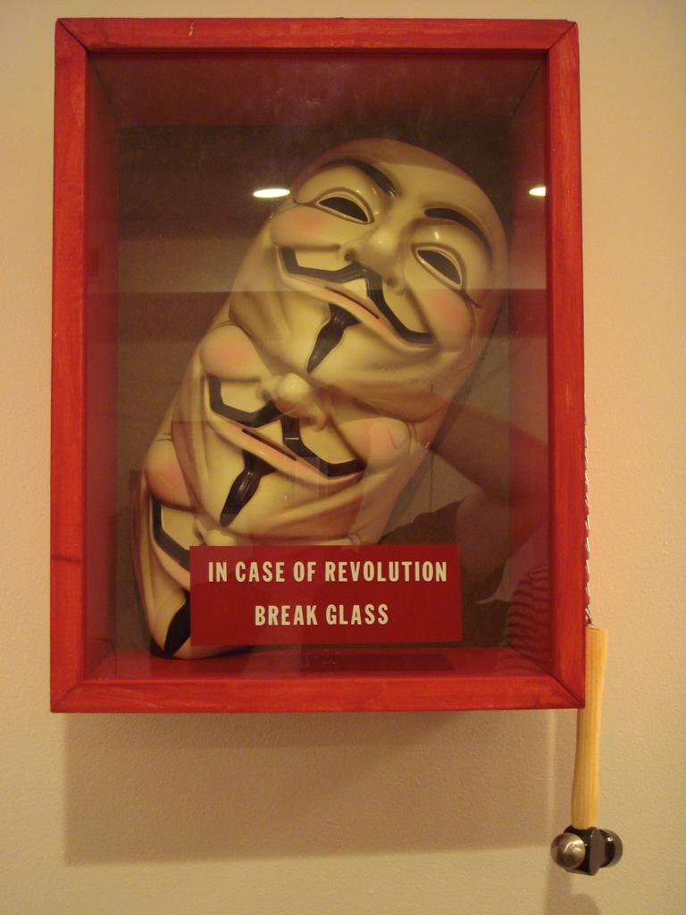 In case of revolution - break glass