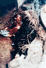 Unidentified Vietnamese female and child killed by US soldiers, My Lai/Song My, March 1968