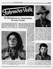 Det kringresande folket, nazitysk propaganda från 30-talet.